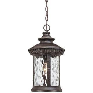 "Quoizel Chimera 11"" Wide Bronze Outdoor Pendant Light   #W2342"