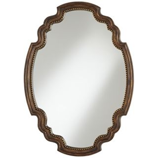 "Uttermost Bronze Terelle 33 3/4"" High Framed Wall Mirror   #W4799"