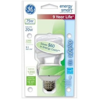 20 Watt CFL Daylight ENERGY STAR Light Bulb   #35232