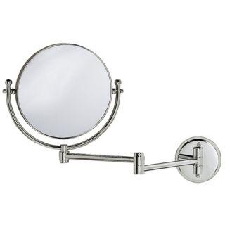 """Gatco Chrome 19 1/2"""" Wide Swing Arm Wall Mirror   #X6714"""
