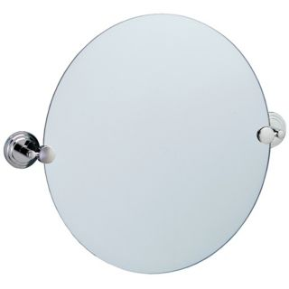 "Gatco Marina Chrome Finish 23 1/2"" Wide Tilt Wall Mirror   #P8024"
