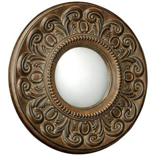 "Moorefield Collection Round 19"" Wide Wall Mirror   #X7128"