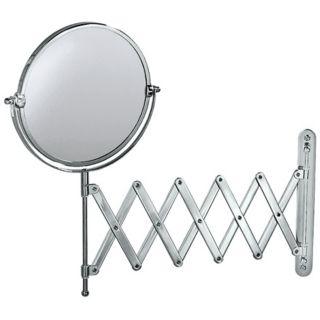 "Gatco 26 1/2"" Wide Chrome Accordion Wall Mirror   #X6717"
