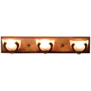 "Logen Collection Horseshoe 24"" Wide Bathroom Light Fixture   #J0501"