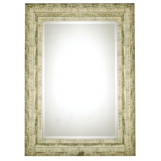 "Uttermost Hallmar Distressed Silver 36"" High Wall Mirror   #45382"