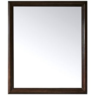 "Savana Antique Oak 32"" High Rectangular Wall Mirror   #R9016"