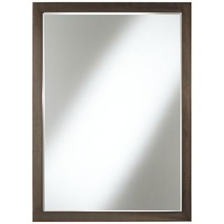 "Paradox 33"" High Bronze Wall Mirror   #W6076"