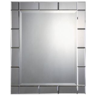 "Uttermost Makura 33"" High Wall Mirror   #M4156"