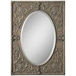 "Uttermost Posada 39"" High Framed Wall Mirror   #X7436"