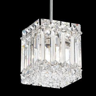 """Schonbek Quantum Collection 4"""" Wide Crystal Mini Pendant   #J2846"""