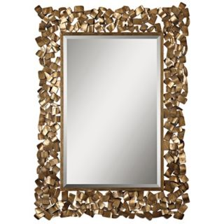 "Uttermost Capulin 53 1/2"" High Welded Metal Wall Mirror   #V5952"