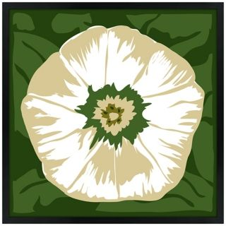 White Flower Wall Art   #N6910