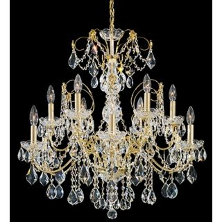 "Schonbek Century Collection 30"" Wide Crystal Chandelier   #23813"