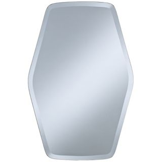 "Column Frameless 30"" High Beveled Wall Mirror   #P1630"