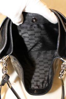 Michael Kors New $368 Julian Glazed Leather Shoulder Tote Bag Handbag