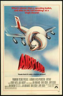 Airplane 1980 Original U s One Sheet Movie Poster