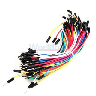 New Solderless Breadboard Jumper Cable Wire Kit QTY70