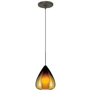 Soleil Amber Glass Bronze Tech Lighting Mini Pendant   #N1146 20928