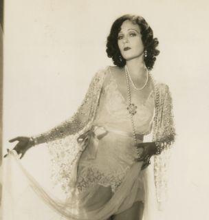 Vintage 1930s Juliette Compton Photograph Art Deco Glamour Risque Pin