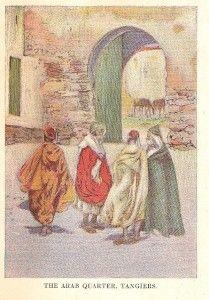 RARE 1908 Fine Binding Spain Espana Tangiers by Maud Howe Illustrated