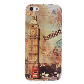 USD $ 3.69   Retro Style Big Ben Pattern Hard Case for iPhone 5,