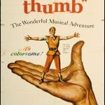 Tom Thumb 1958 Original U s One Sheet Movie Poster