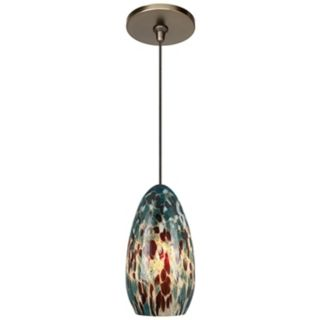 Banja Aquamarine with Bronze Fusion Jack Mini Pendant   #M9268 M8561