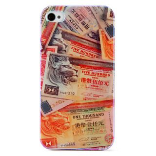 USD $ 6.79   Hong kong Dollar Pattern Hard Case for iPhone 4 and 4S