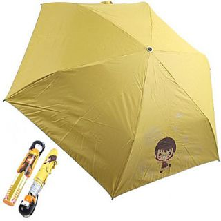 EUR € 15.81   Japanese Style Doll Girl Painting parapluie (Jaune