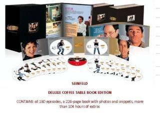 Seinfeld The Complete Series Box Set TV Series 32 DVDs Coffee Table