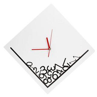 EUR € 11.86   creativo caduto modello numeri da parete orologio