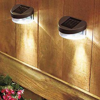 EUR € 23.82   Solar Bianco Deck Luce E Recinzione parete lampada (2