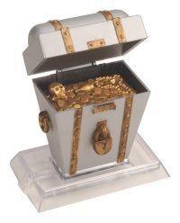 JW Activair Air Actuated Fish Aquarium Ornament Treasure Chest