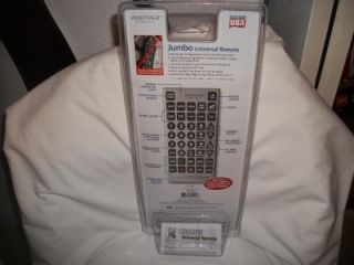Giant Innovage Jumbo Universal Remote Control Up to 8 Devices
