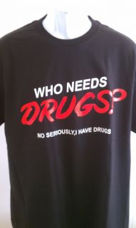 Funny Drug T Shirt Kush Pot Weed Marijuana New SM Med LG XL 2X Wiz