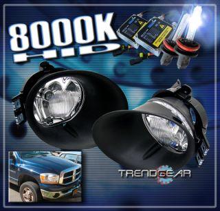 2002 2009 Dodge RAM 1500 2500 3500 Truck Bumper Chrome Fog Light Cover