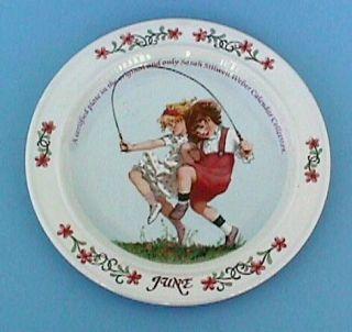 Vintage June 1 Sarah Weber Calendar Plate Bradford Exch