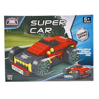 DIY 3D Puzzle Super Blocks coches ladrillos de construcción de