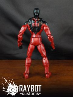 Marvel Legends New Kaine Scarlet Spider Custom Action Figure by Raybot