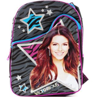 Victorious Victoria Justice Tori Vega School Backpack Book Bag