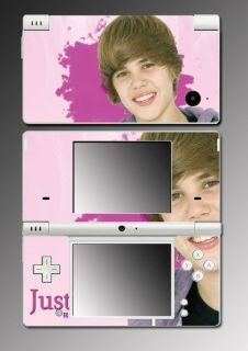 Justin Bieber Baby My World Game Skin 15 Nintendo DSi