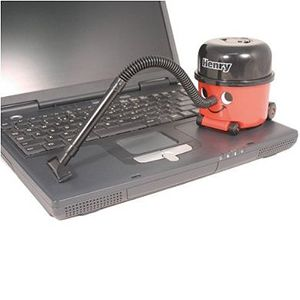 New Paladone Henry Desktop Office Toy Tidy Hoover Vacuum Mini Cleaner