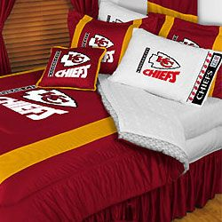 NFL Kansas City Chiefs Full Queen Bedding Comforter Set