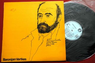 Baronijan Vartkes Piano Composer Classical EXYU LP Mint