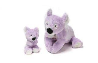 Features of Zoobie Pet   Khimba the Koala & Baby Kai Plush, Pillow
