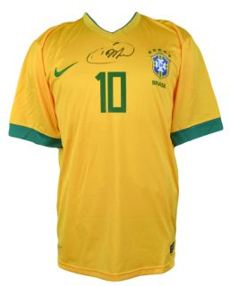 Kaka Signed Jersey Brazillian National Team GA Certified