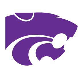 Kansas State Wildcats Mascot Logo Clear Vinyl Decal Car Truck Sticker