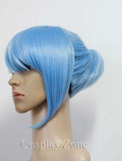 Tiger Bunny Karina Lyle Blue Rose Cosplay Short Wig Party Hair