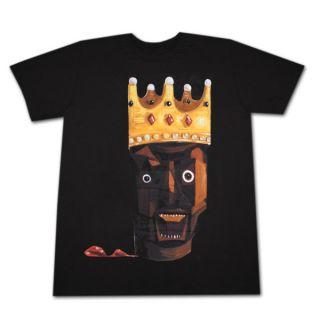 Kanye West Power Trip Crown Black Graphic Tshirt