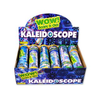 Children Toys Fun Plastic Kaleidoscopes Wholesale Case Lot 72 Display